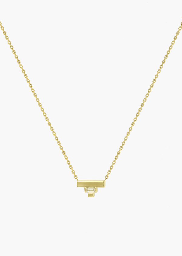 Aneska Collier Or jaune diamant