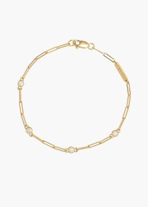 Aneska Bracelet Or jaune diamant