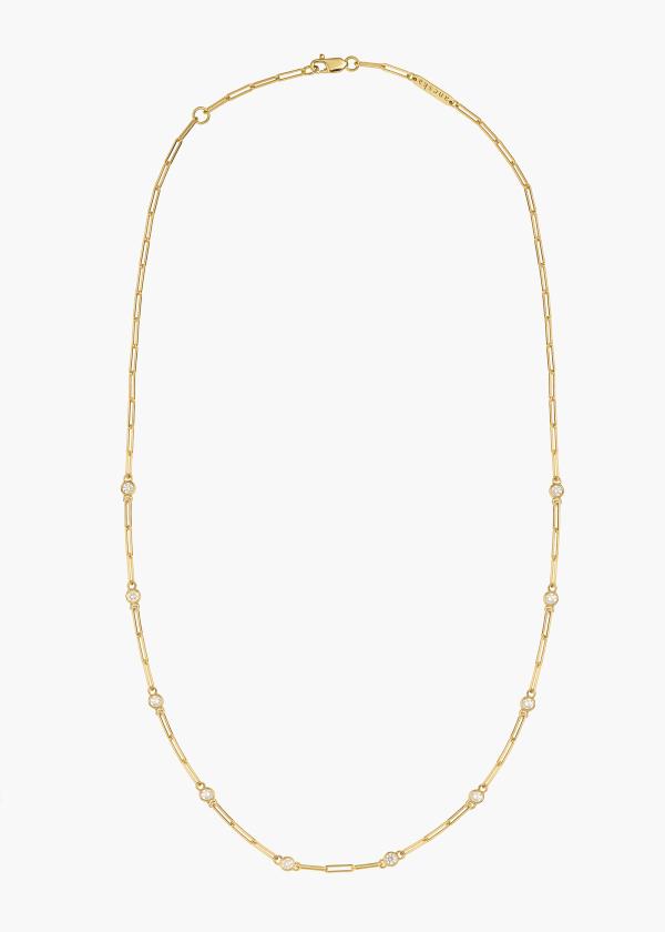 Aneska Collier Or jaune diamant